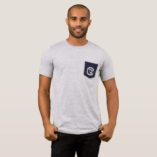 CRC Men's Pocket Gray T-Shirt