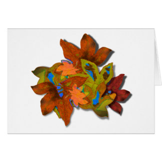 Cre8tive Fall Leaves Greeting Card
