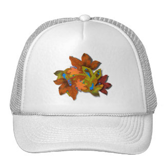 Cre8tive Fall Leaves Mesh Hats