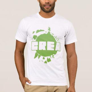 Crea logo - white tshirt
