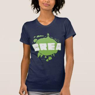 Crea logo - women s navy tshirt