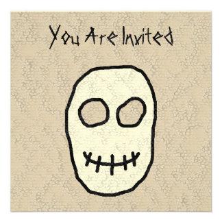 Cream and Black Skull Primitive Custom Announcement