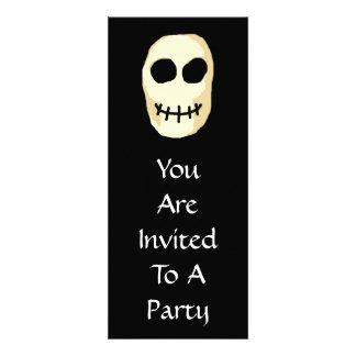 Cream and Black Skull Primitive Style Announcement
