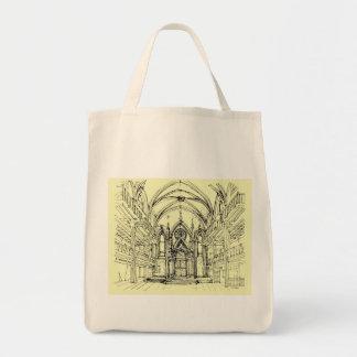 Cream Angel Gothic NYC Bag