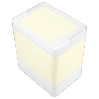 Cream Beige Igloo Cool Box