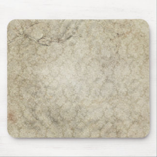 Cream Colored Grunge Mousepads
