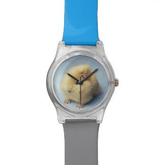 Cream colored Guinea pig Watch