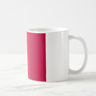 CREAM CRIMSON CRIMSON ABSTRACT COFFEE MUG