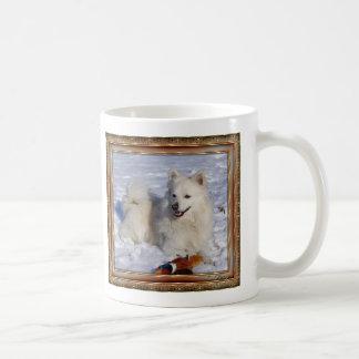 Cream Eskimo in  Circ Frame Coffee Mugs
