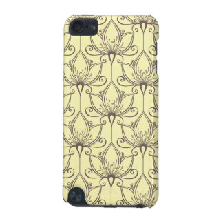 Cream Floral Pattern iPod Touch 5G Cover
