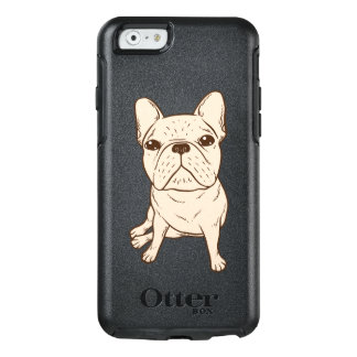 Cream French Bulldog OtterBox iPhone 6/6s Case