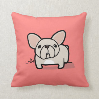 Cream Frenchie Pillows