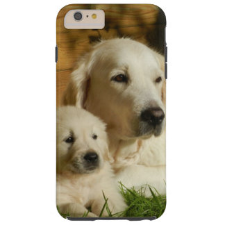 Cream Golden Retriever Dogs Tough iPhone 6 Plus Case