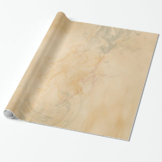 Cream Marble Vintage Steampunk Wrapping Paper