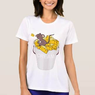 cream mouse chees T-Shirt