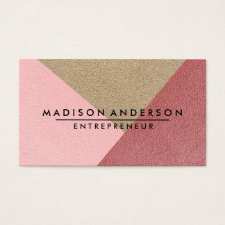 Cream Red & Pink Modern Finance Consultant