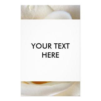 Cream Rose Wedding Photo Flyer Design