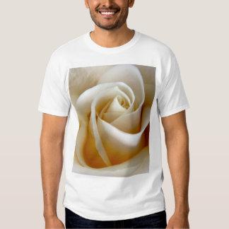 Cream Rose Wedding Photo T Shirt