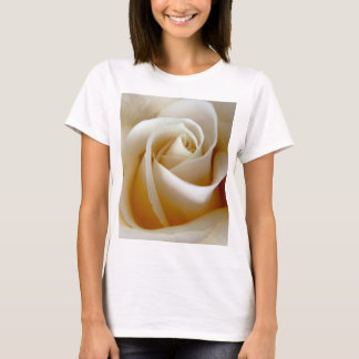 Cream Rose Wedding Photo T-Shirt