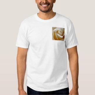Cream Rose Wedding Photo Tshirts