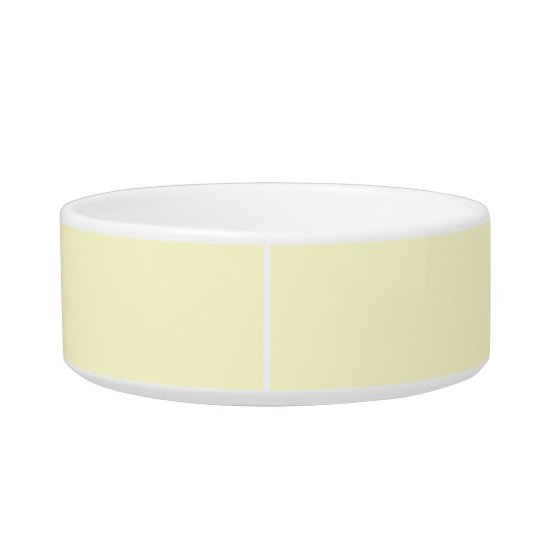 Cream Simple Single Colour Bowl