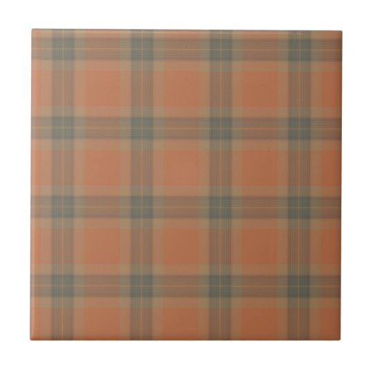 Cream Tartan Ceramic Tile