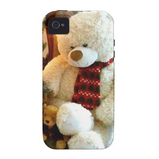 Cream Teddy Bear iPhone 4 Case
