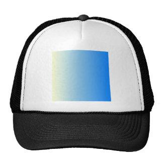 Cream to Azure Vertical Gradient Cap