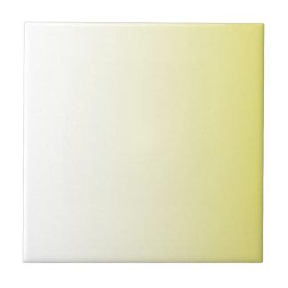 Cream to Cadmium Yellow Vertical Gradient Tile