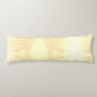 Cream Watercolor Mountain Boho Lines Beige Neutral Body Cushion