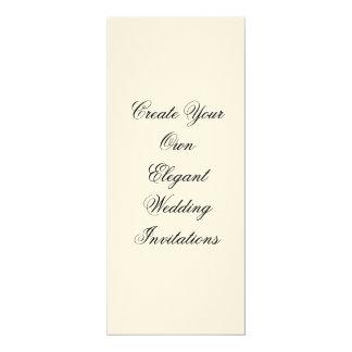 Cream Wedding Invitations Create Your Own