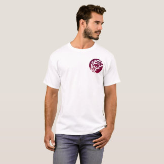 Cream Wheels Pocket Tree T-Shirt