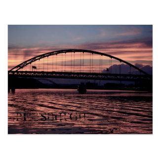 Creamsicle Pittsburgh Postcard