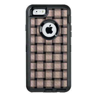 Creamy Cocoa Basket Weave OtterBox iPhone 6/6s Case