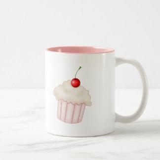 Creamy Cupcake Two-Tone Coffee Mug