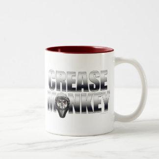 Crease Monkey (Chrome) Mug