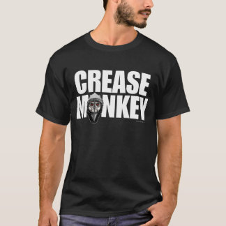 Crease Monkey (Hockey Goalie) T-Shirt