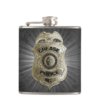 Crease Police (Hockey Goalie) Flask