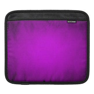 Creased purple paper with spotlight iPad sleeve