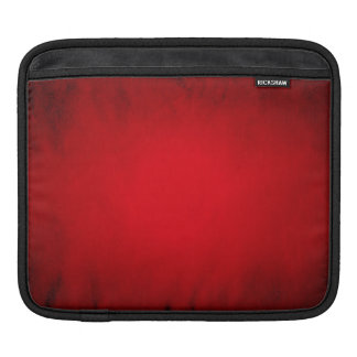 Creased red paper with spotlight iPad sleeve