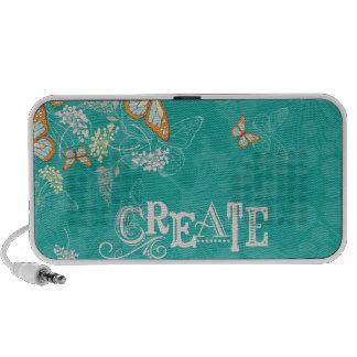 Create:  A Fresh Start Travelling Speaker