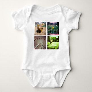 Create a unique and original instagram baby bodysuit