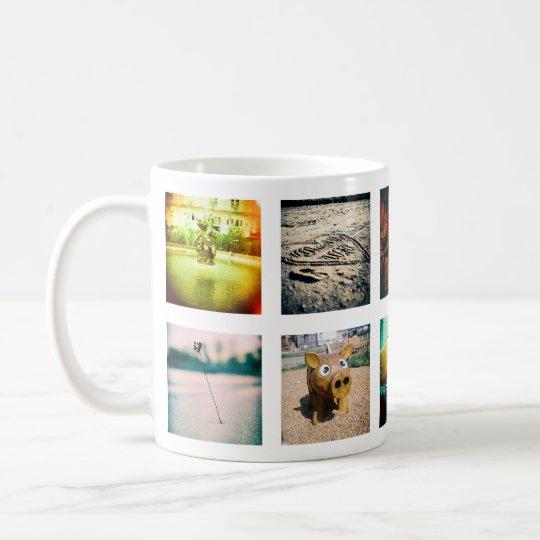 Create a unique and original instagram coffee mug