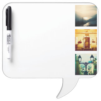 Create a unique and original instagram dry erase board