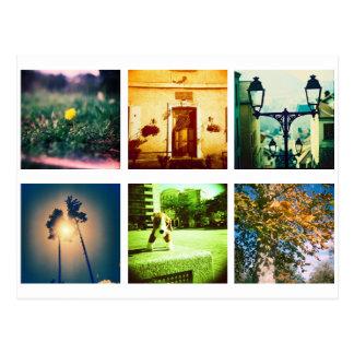 Create a unique and original instagram postcard
