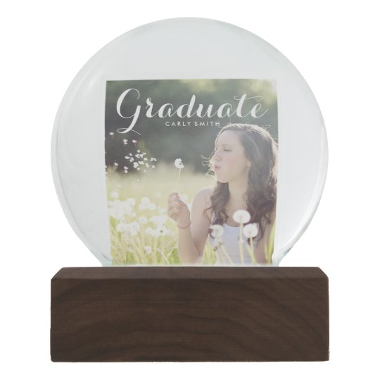 Create add your own photo Graduate graduation name