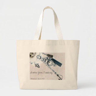 Create, Awaken Your Creativity ! Jumbo Tote Bag