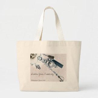 Create, Awaken Your Creativity ! Canvas Bags