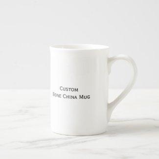 Create Custom Bone China Tea Coffee Soup Cider Mug