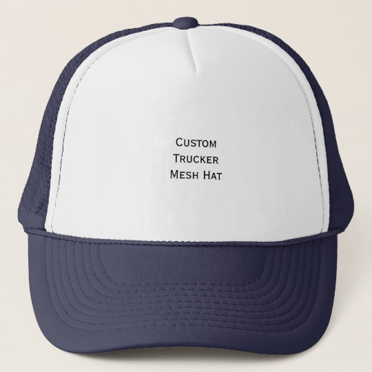 Create Custom Cool Photo Trucker Mesh Hat Cap